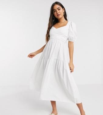 https://www.asos.com/stradivarius/stradivarius-poplin-midi-dress-with-belt-in-white/prd/14818770?clr=&colourWayId=16646555&SearchQuery=midi%20dress