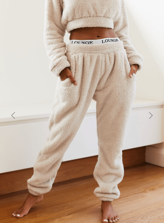 https://loungeunderwear.com/products/oatmeal-cream-teddy-joggers
